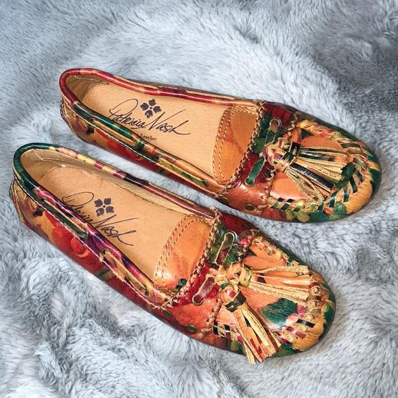 f0af35d50dd NWOT Patricia Nash Domenica Tassel Loafer Flats. M 5a977fec6bf5a635d019e6f6